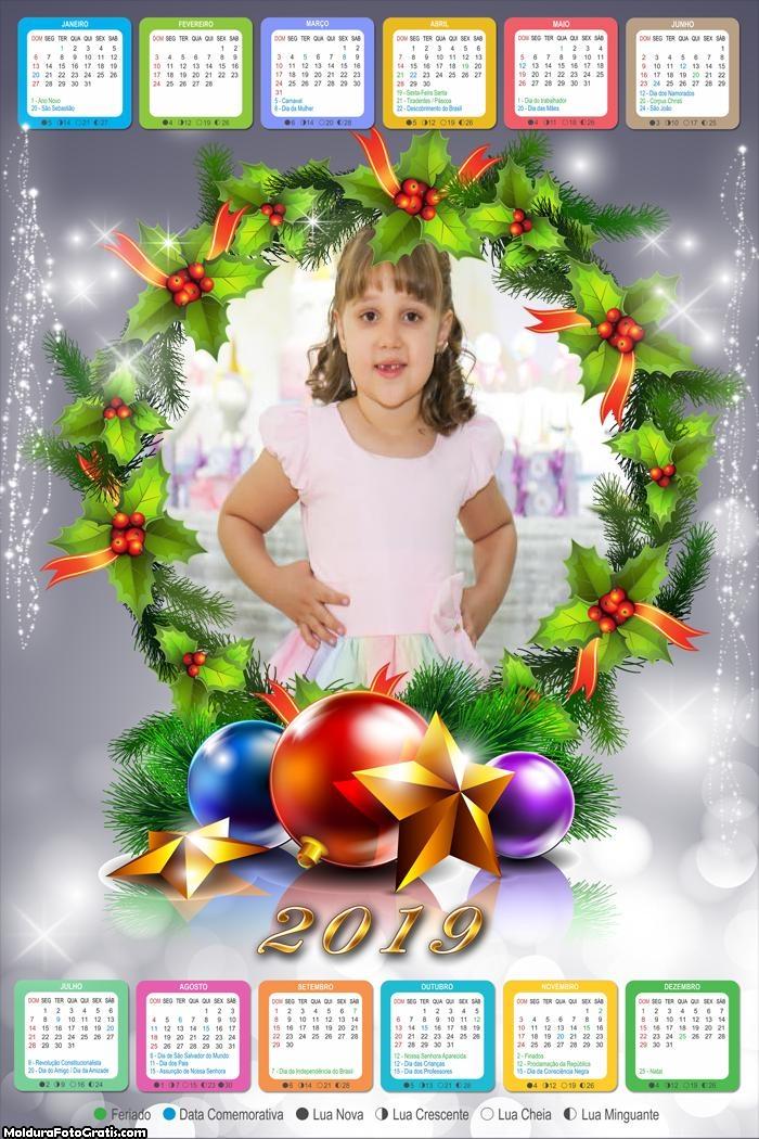 Calendário Guirlanda 2019