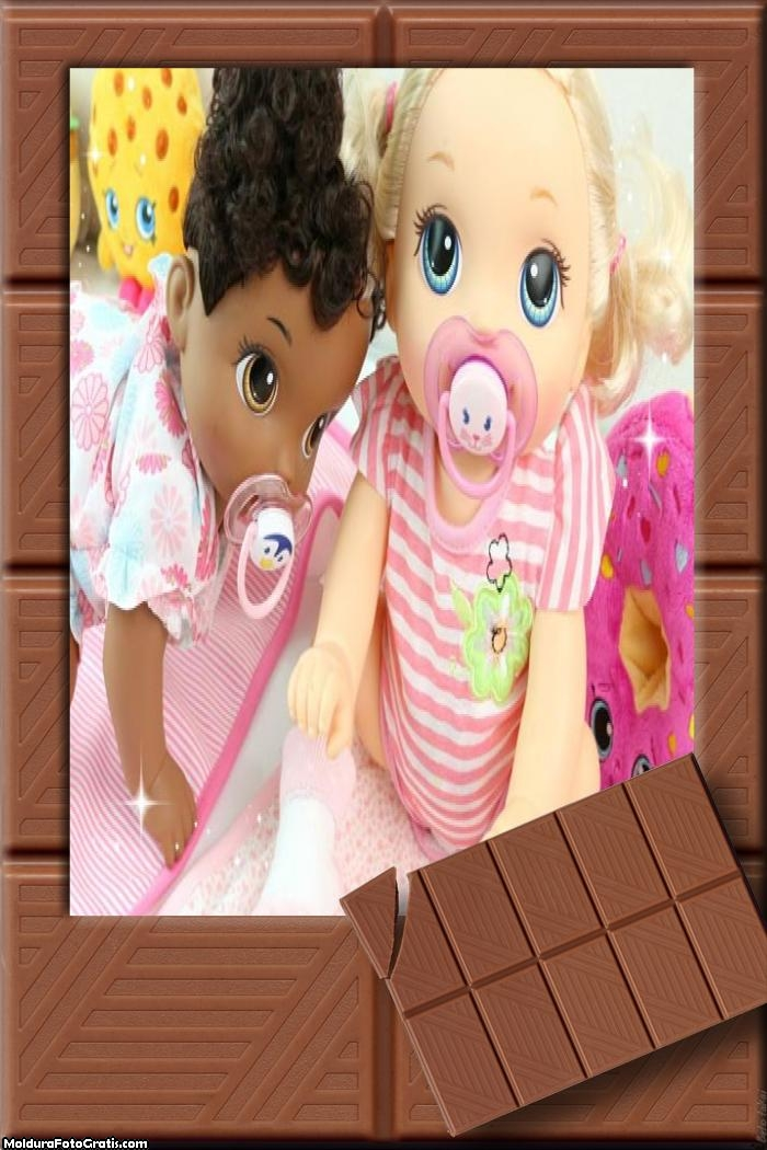 Chocolate FotoMoldura