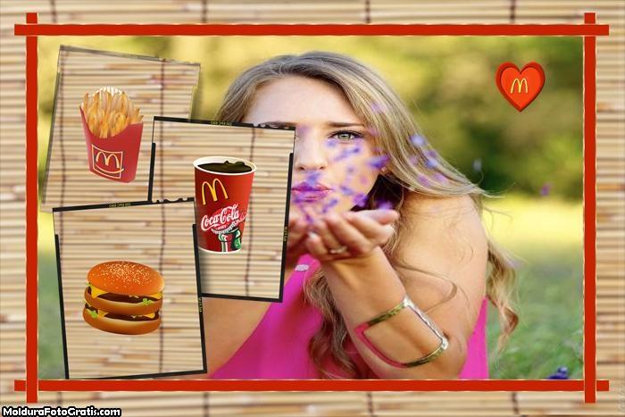 Produtos McDonalds Moldura