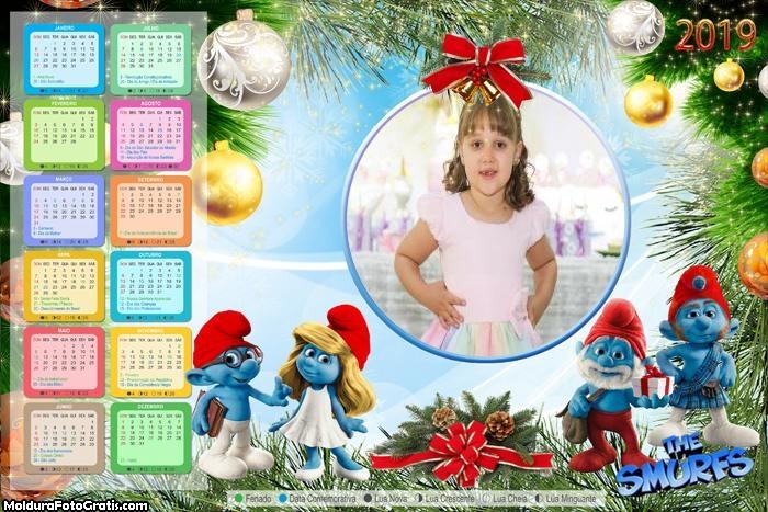 Calendário Smurf de Natal 2019
