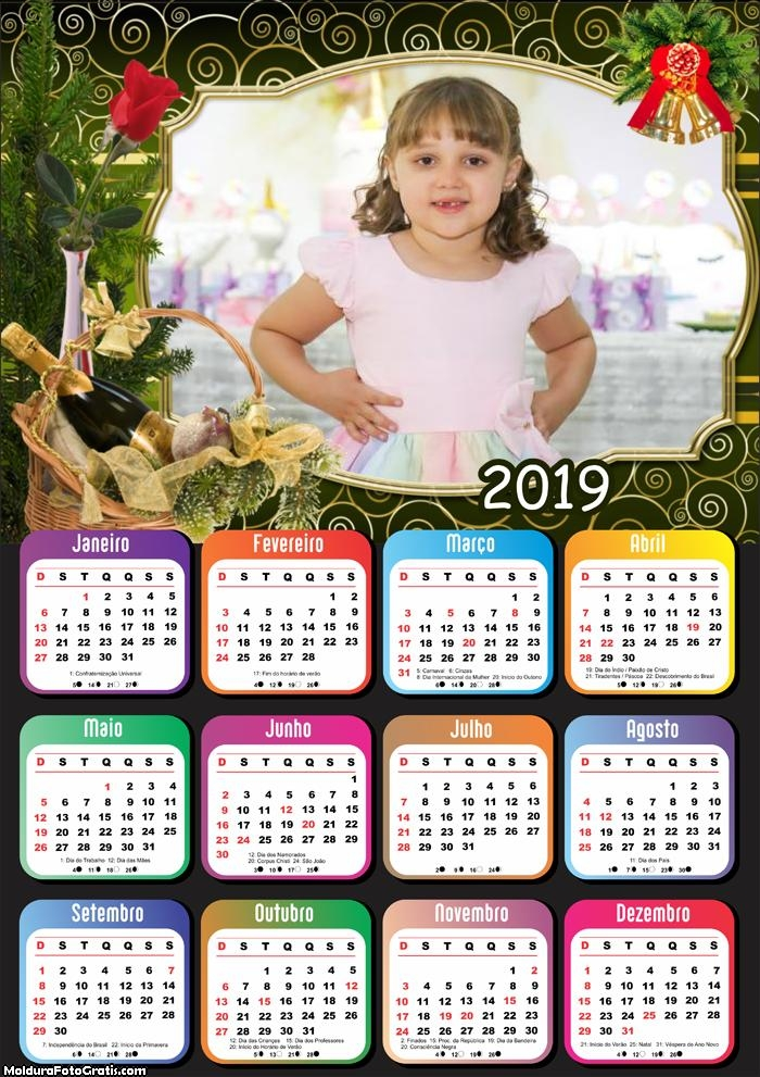 Calendário Cesta de Natal 2019