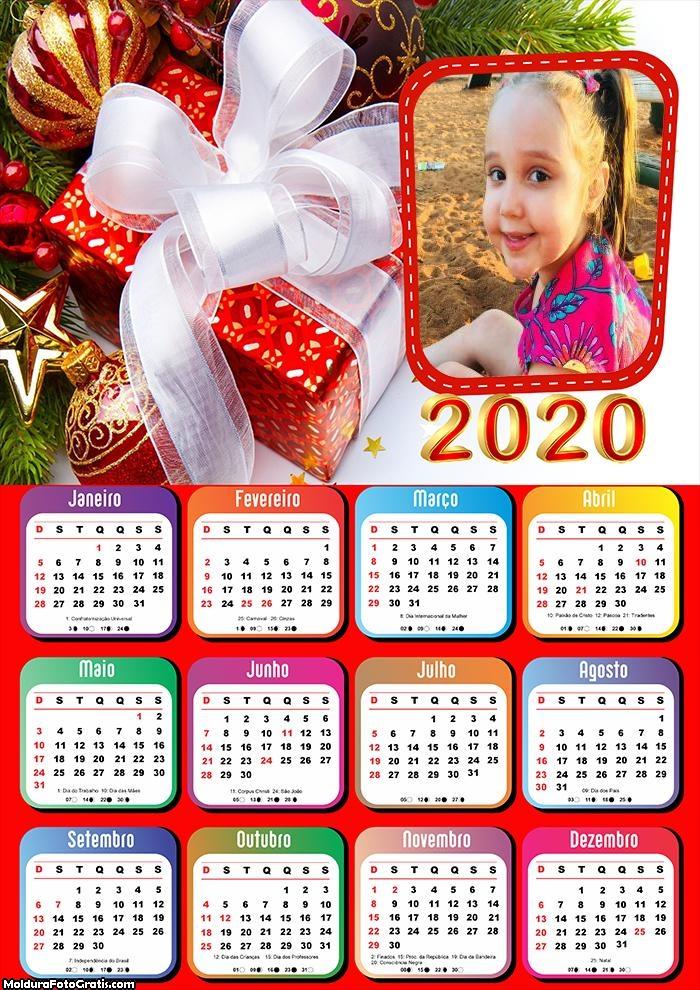 Calendário Surpresa de Natal 2020