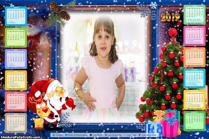 Calendário Papai Noel Existe 2019