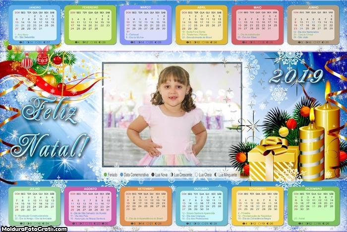 Calendário Velas Enfeitadas 2019