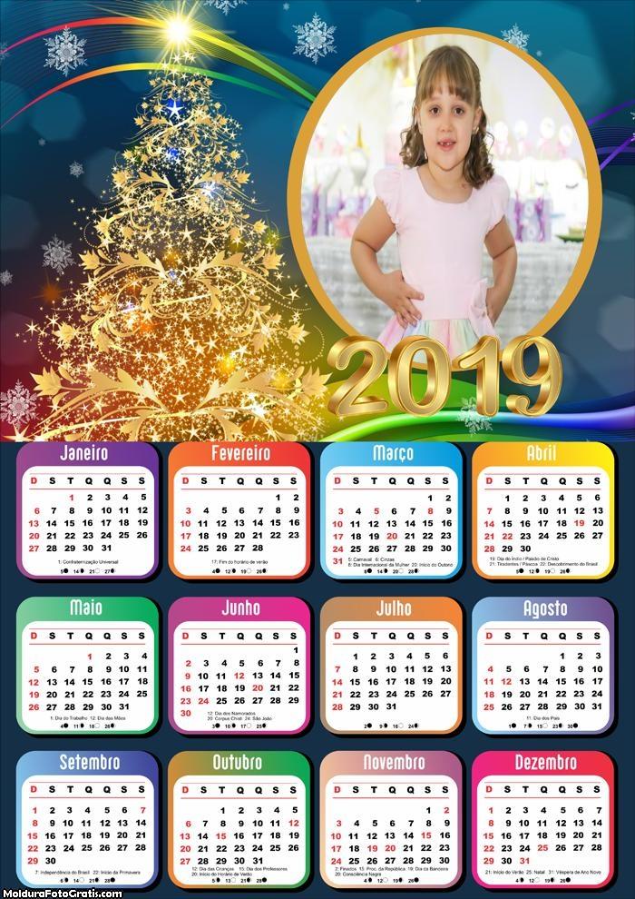 Calendário Árvore Especial de Natal 2019