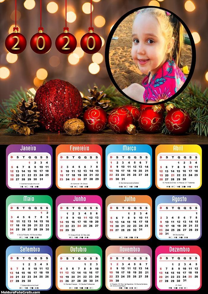 Calendário Foto de Natal 2020
