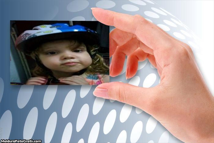 FotoMoldura Placa no Cartão de Visita