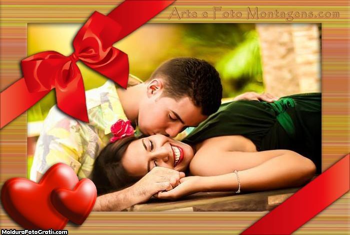 Caixa de Presente Amor Moldura