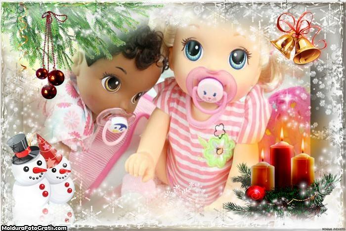 Exemplo de Natal FotoMoldura