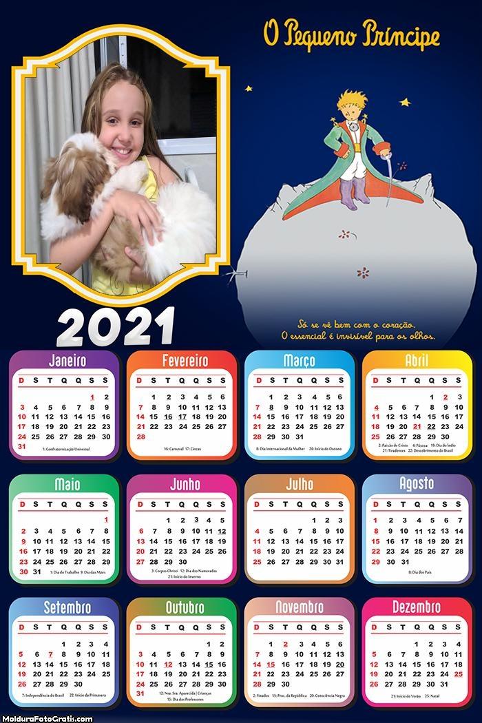 Calendário Só se vê Bem com o Coração 2021