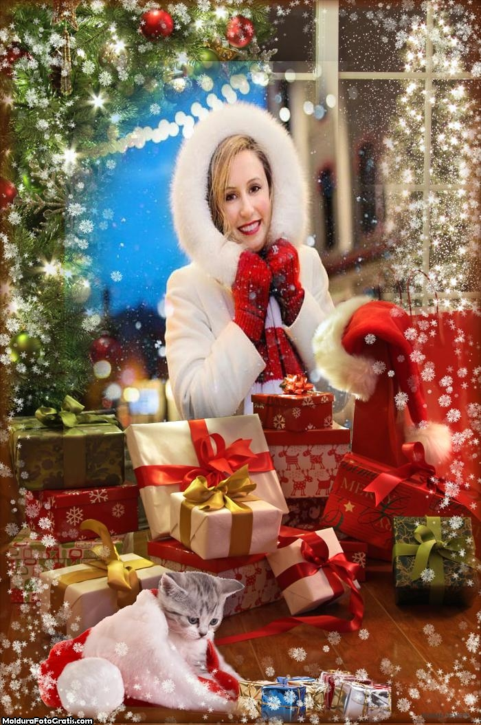 Linda Imagem de Natal Moldura