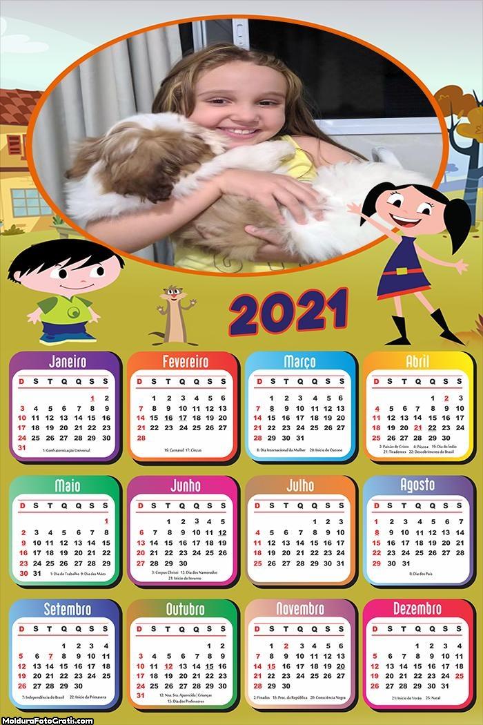 Calendário Show da Luna 2021