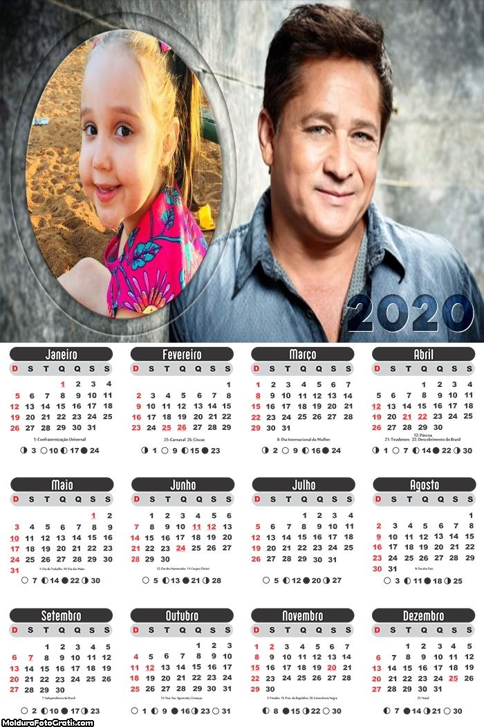 Calendário Leonardo Cantor Sertanejo 2020