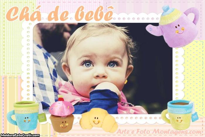 Chá de Bebê Moldura