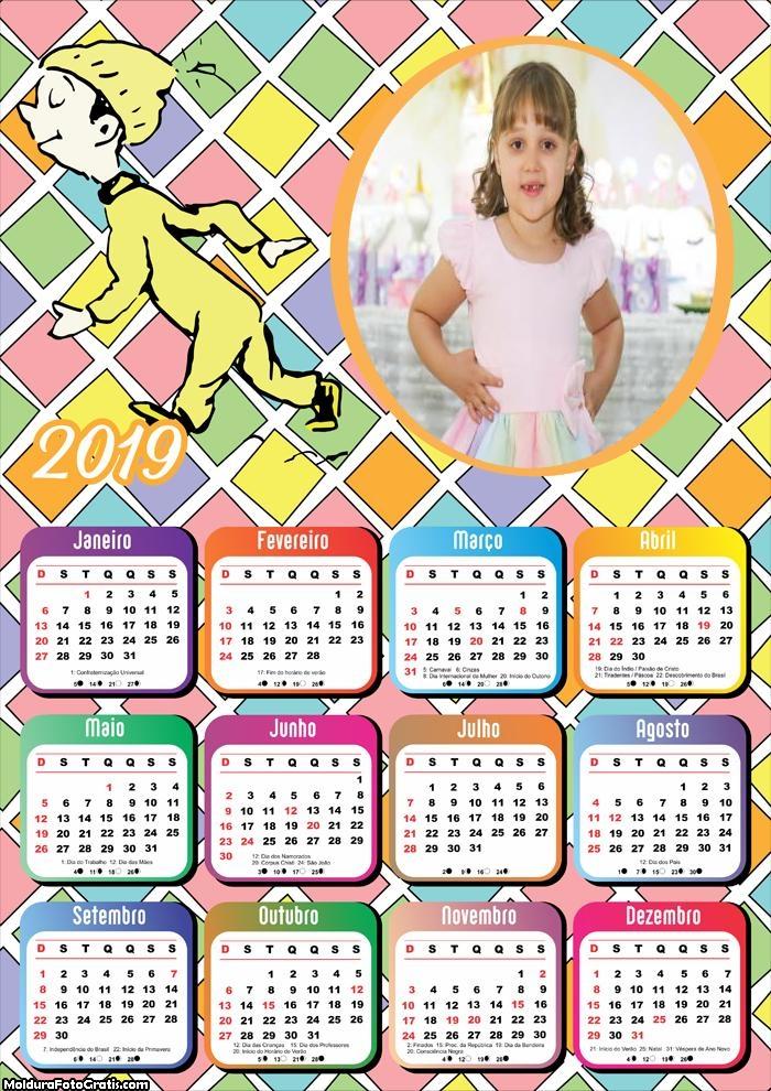 Calendário Garoto de Pijama 2019