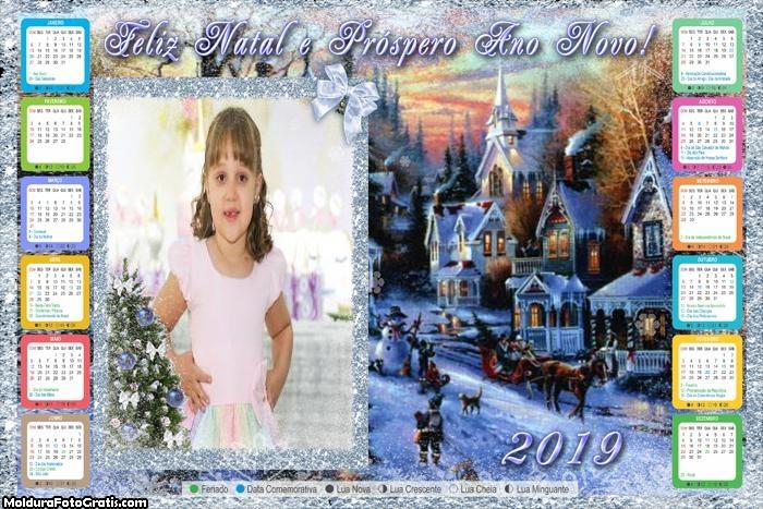 Calendário Cidade do Papai Noel 2019