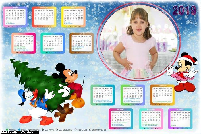 Calendário Montando Árvore de Natal 2019