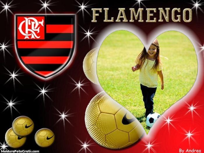 Flamengo Amo esse Time Moldura