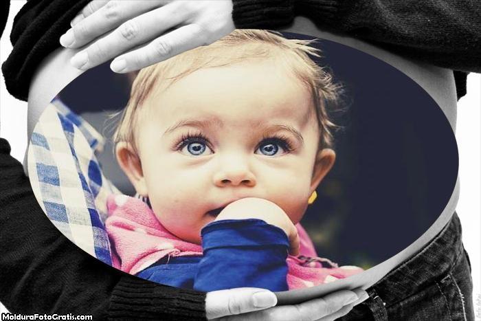 Montagem de Foto Grávida