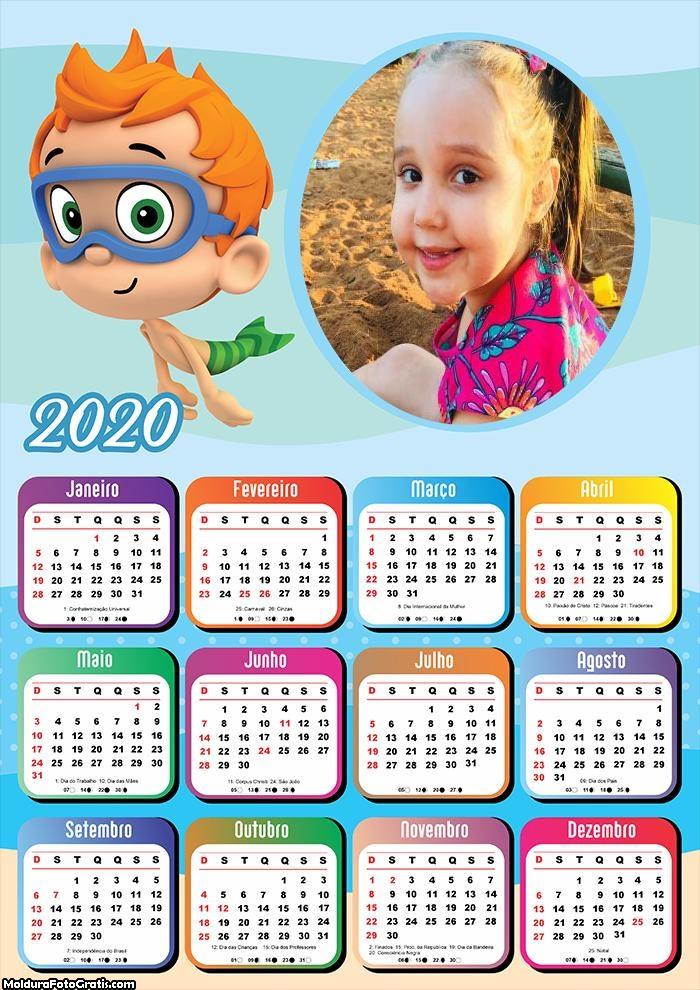 Calendário Tritão Baby 2020