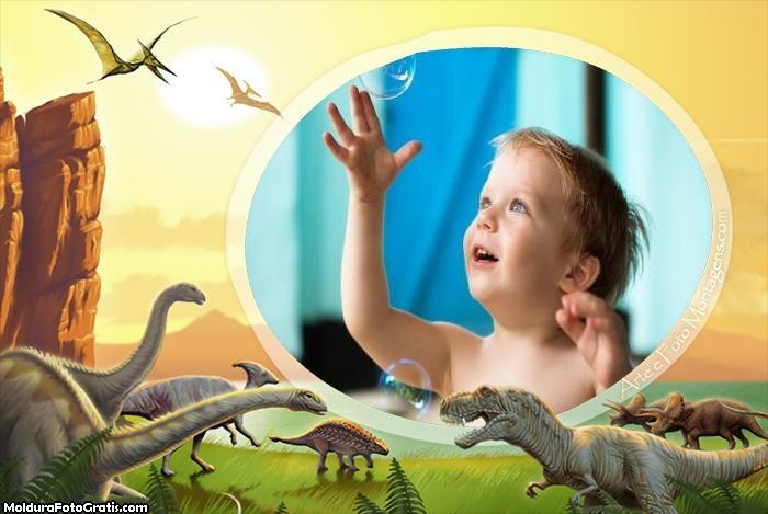 Dinossauros Montagem de Foto