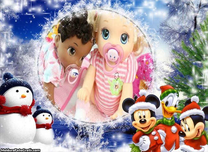 Natal do Mickey Minnie e Pato Donald