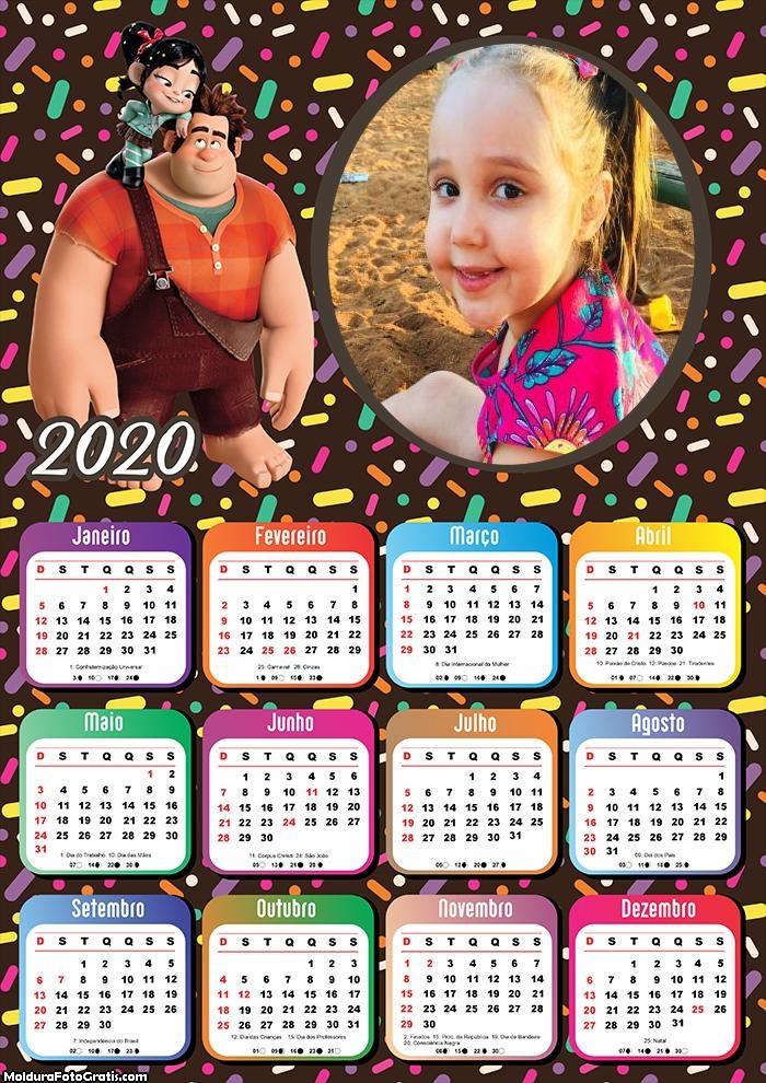 Calendário Ralph Lauren 2020