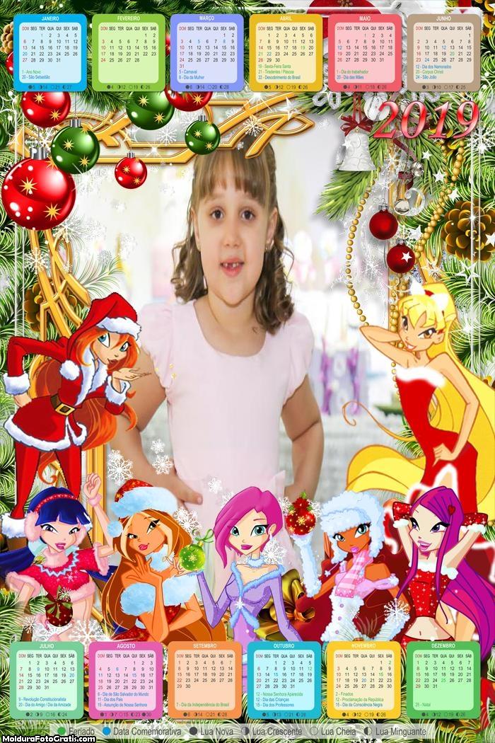 Calendário Bratz de Natal 2019