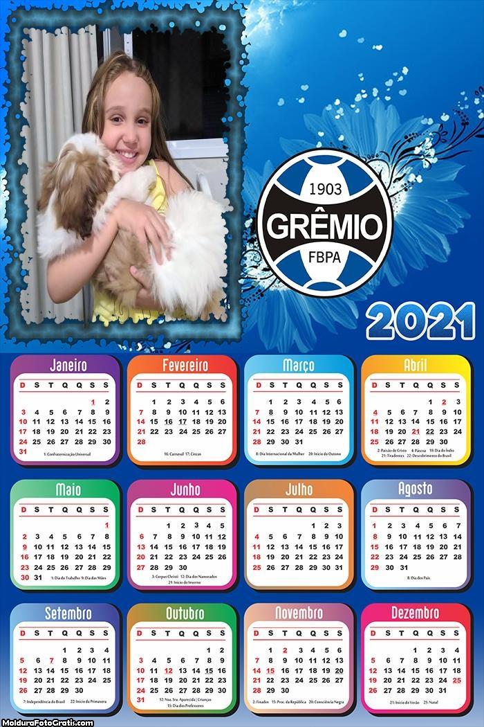 Calendário do Grêmio 2021