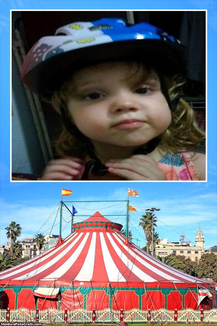 FotoMoldura Circo Infantil