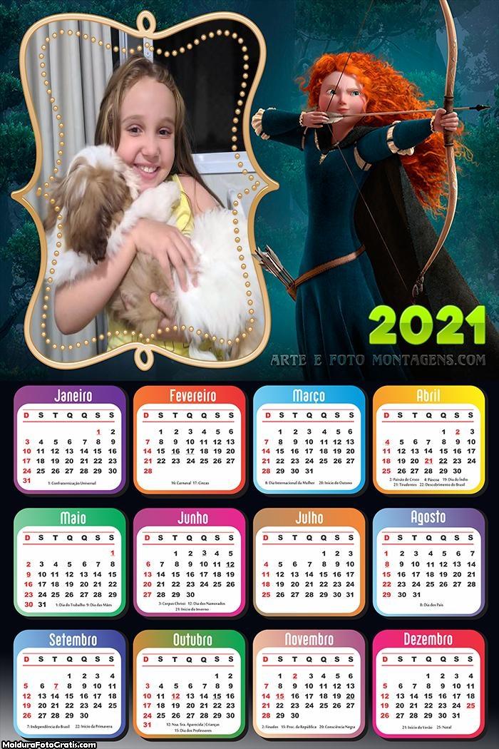 Calendário Valente 2021