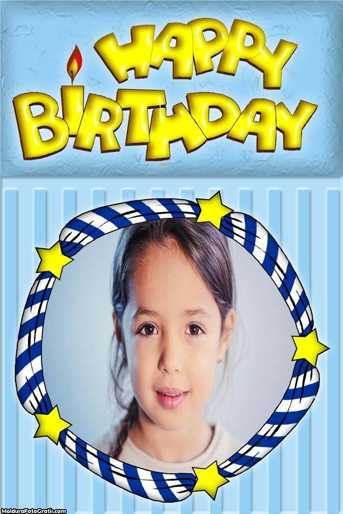 Happy Birthday Moldura