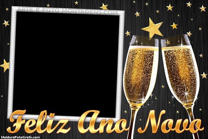 Feliz Ano Novo Colagem de Foto