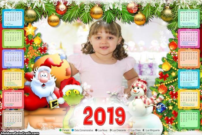 Calendário Papai Noel Espantado 2019