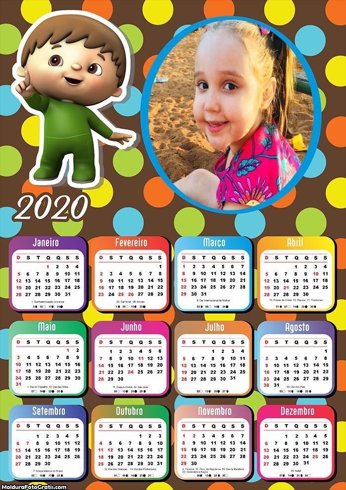 Calendário Infantil Garotinho 2020
