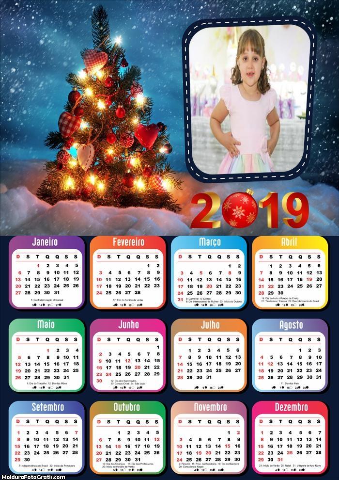 Calendário Natal Gramado 2019