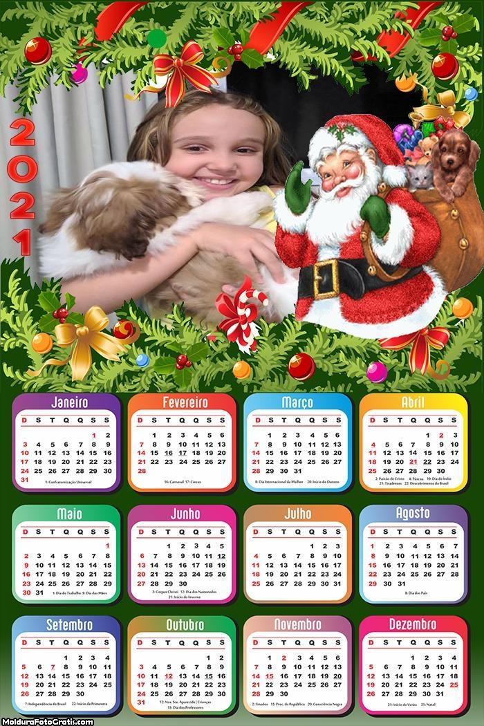Calendário Casinha do Papai Noel 2021