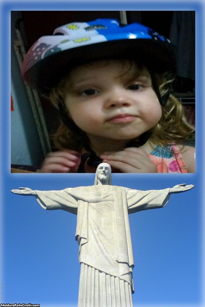 FotoMoldura Cristo Redentor Religião