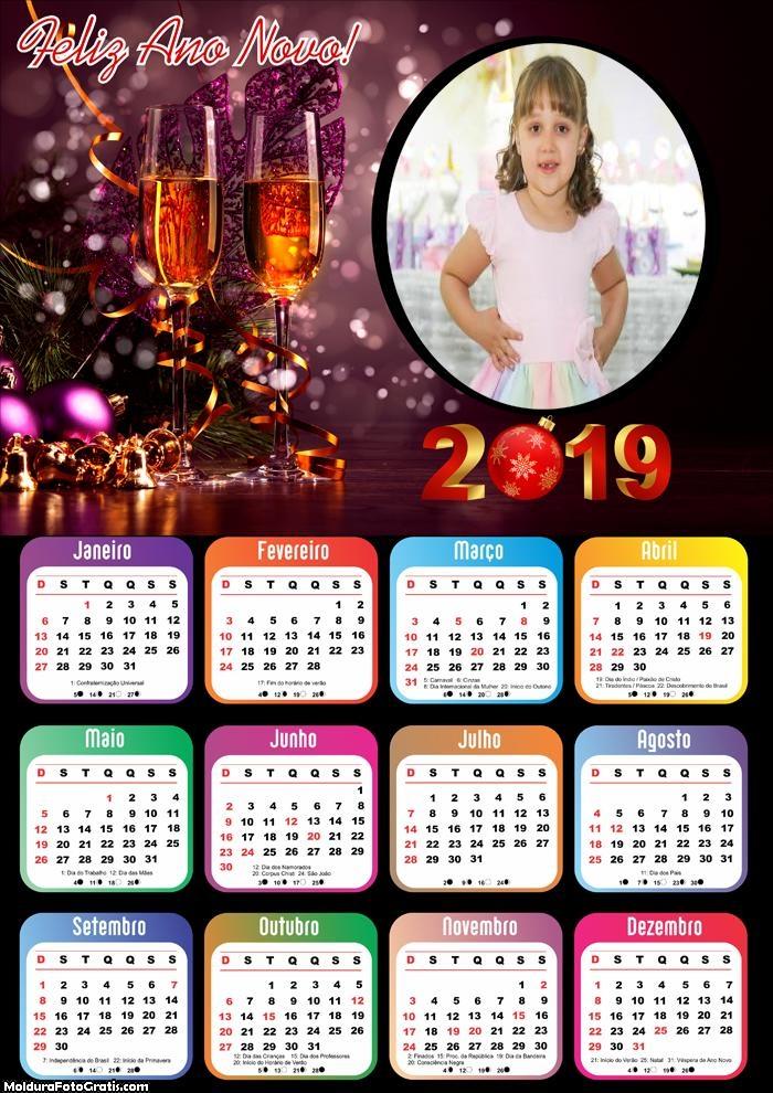 Calendário Final de Ano 2019