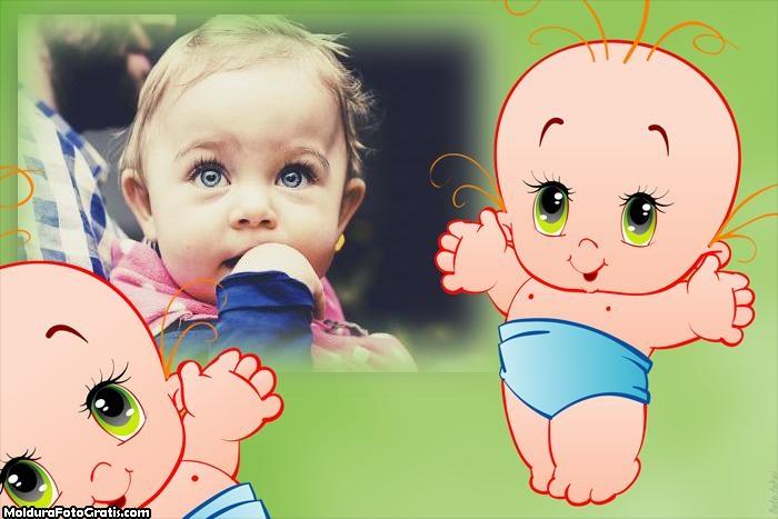 Bebezinho Moldura de Foto