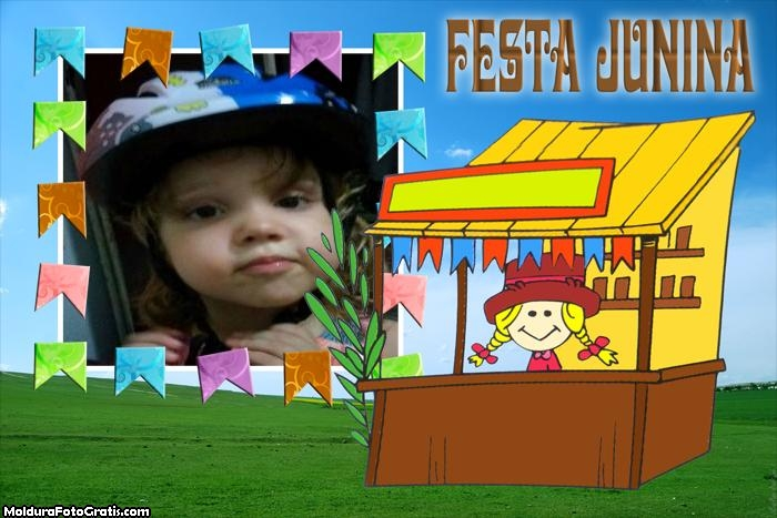 FotoMoldura Barraquinha Festa Junina