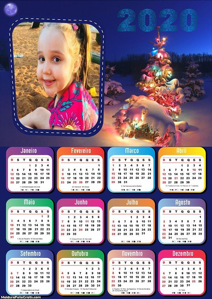 Calendário Natal Infantil 2020