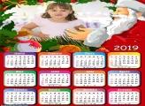 Calendário Foto com Papai Noel 2019