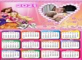 Calendário Barbie 2021