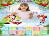 Calendário Natal Diney 2019