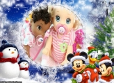 Natal do Mickey Minnie e Pato Donald