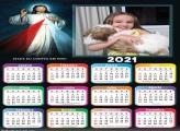 Calendário Confio em Jesus 2021