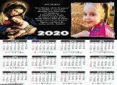 Calendário Oração Ave Maria 2020