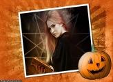 Abobora de Halloween Montar Foto Online