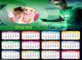 Calendário do Lanterna Verde 2018